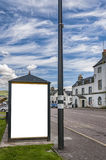 Bus stop Inverary Royalty Free Stock Photography