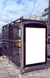 Bus stop Istanbul 01 Royalty Free Stock Photography