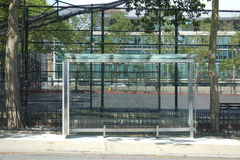 New York City Bus Stop Stock Images
