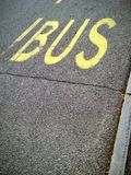 Bus stop Stock Images