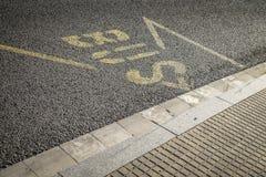Bus stop in Sant Cugat del Valles Barcelona Stock Image