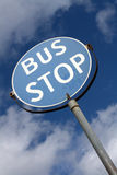 Bus Stop Sign Stock Photos