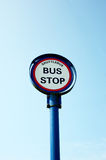 Bus Stop Royalty Free Stock Images