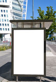 Bus stop at turning torso 03 Stock Image
