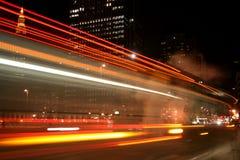 Bus Streak royalty free stock photography