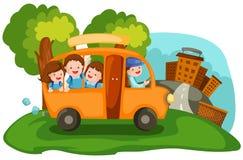 bus szkoły ilustracja wektor