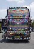 Bus tailandese fotografie stock