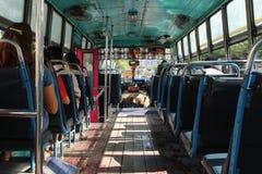 Bus tailandese fotografia stock