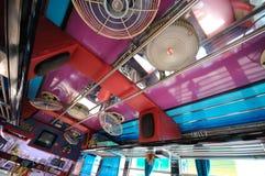 Bus in Tailandia Fotografia Stock Libera da Diritti