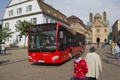 Bus tedesco della città Immagini Stock