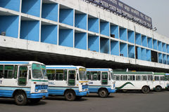 Bus terminal Stock Photography