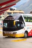 Bus Terminal in Banos, Ecuador Stock Images