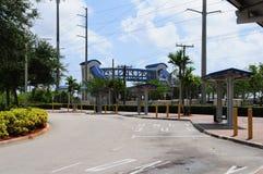 Bus terminus, FL Stock Image