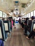 Bus of Thialand. Buses in Bangkok Royalty Free Stock Photography