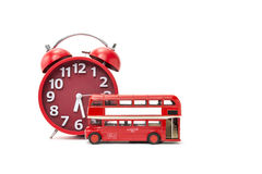 Bus Time pass Royalty Free Stock Images