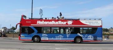Bus Tour in Havana Stock Images