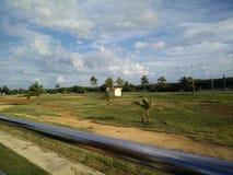 Bus tour in Varadero, Cuba Royalty Free Stock Photos