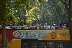 bus tourist Arkivfoton