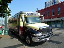 Bus touristique de rue de Beale, Memphis TN Photos stock