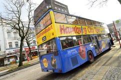 Bus touristique de ville de Hambourg Image libre de droits