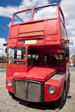 Bus traditionnel de Londres. Image libre de droits