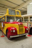 Bus and transport museum. Bus garage,transport museum,Semantic Information  Title:buses Note to editor: Keywords:bus, buses, transport, garage, public Stock Images