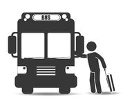 Bus transportation design Stock Photography