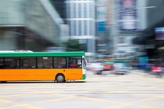 Bus travel Royalty Free Stock Image