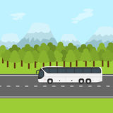 Bus trip Royalty Free Stock Photos