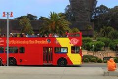 Bus turístico de San Francisco fotografía de archivo libre de regalías