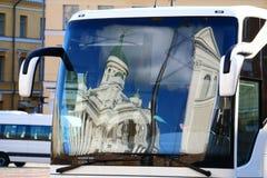 Bus turístico en Estocolmo Imagen de archivo libre de regalías
