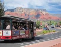 Bus turístico en Sedona Fotos de archivo