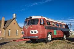 Bus turístico histórico del cantante de country de Bob Wills Texas Fotos de archivo libres de regalías
