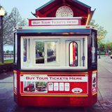 Bus turístico turístico Fotos de archivo