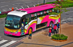Bus turistico Fotografia Stock Libera da Diritti