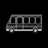 Bus urban transport mini Stock Photography