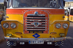 Bus in Valletta Bus Station - Malta stock images