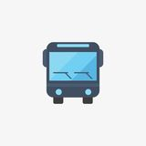 Bus vector icon Royalty Free Stock Image