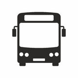 Bus. Vector icon isolated on white background stock illustration