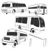 Bus vector Stock Photography
