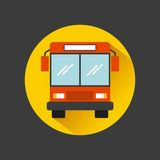 Bus vehicle icon Royalty Free Stock Photography