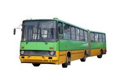 Bus verde Fotografie Stock