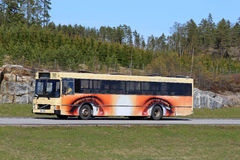 Bus with Wheels as Eyes Stock Photos