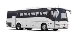 bus on white Stock Photo