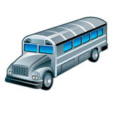 Bus on white, , 10eps. Royalty Free Stock Images