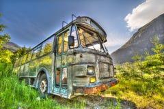 Bus Wreck stock image