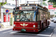 Bus in Yokohama city Royalty Free Stock Image