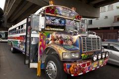 Bus in Zentralamerika Stockfotos