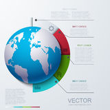Busainess moderne de vecteur infographic Photo libre de droits