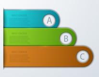 Busainess moderne de vecteur infographic Images stock